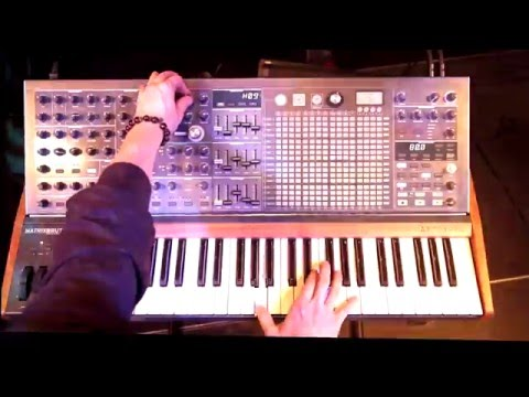 Arturia presents MatrixBrute, Analog Avant-Garde