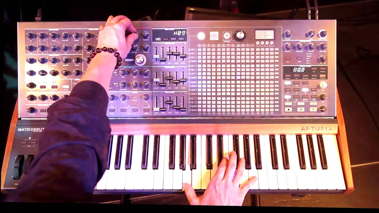 New Coffee Cups Synth Demos Updates >> Arturia Presents Matrixbrute Analog Avant Garde Youtube