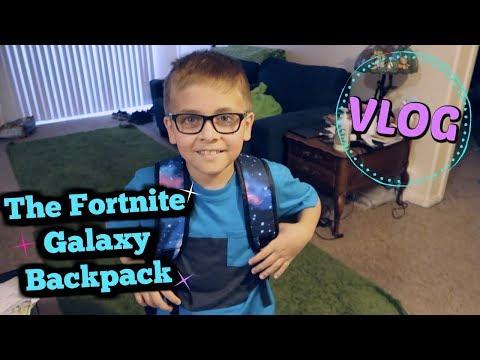 The Fortnite Galaxy Backpack