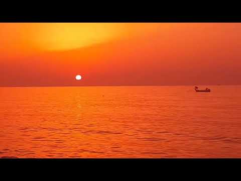 Algeria Sun Set with lyrics by dido