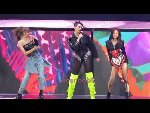 190501 BLACKPINK - Kiss And Make Up With Dua Lipa