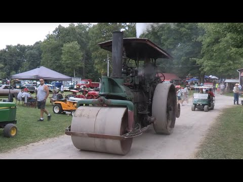 National Pike Steam, Gas, And Horse Show -  Large Antique Construction And Mining Equipment