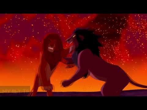 Симба дерется со Шрамом. Король Лев (1994) #мультфинариум #мульттв #корольлев