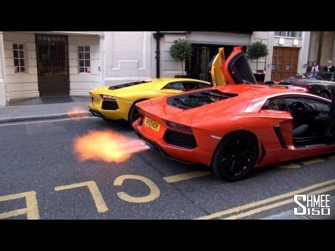 DUAL FLAMETHROWER – Epic Aventador Rev Battle