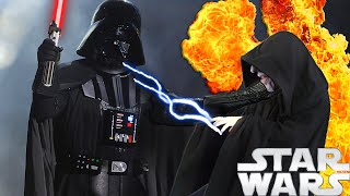 WHAT IF DARTH VADER KILLED DARTH SIDIOUS IN Ep3 - STAR WARS THEORY