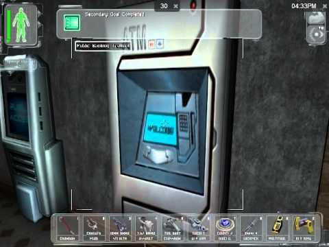 Let's Play Deus Ex (Part 2: UNATCO HQ/ Castle Clinton)