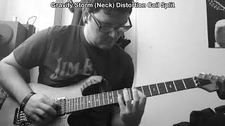 Dimarzio D Activator (Bridge) and Gravity Storm (Neck) Demo