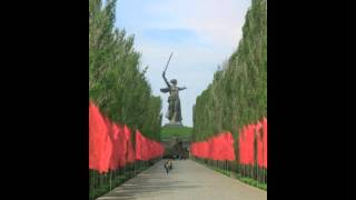 The Motherland is Calling....A Russian WWII Memorial