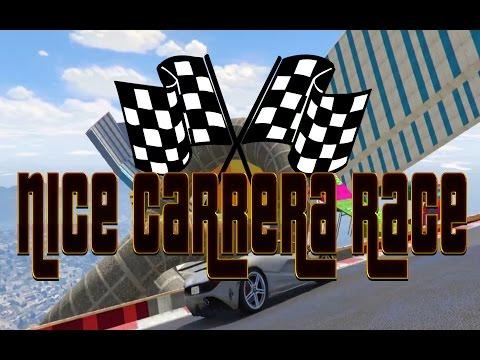 Nice Carrera Race 😋  --- GTA V Online Custom Cunning Stunt Rennen deutsch PC ---