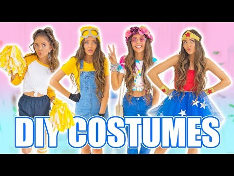 Hippie Halloween Costume Vsco.Diy Halloween Costumes 2017 Easy Last Minute Costume Ideas Youtube