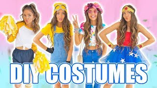 DIY HALLOWEEN COSTUMES 2017! Easy Last-Minute Costume Ideas!