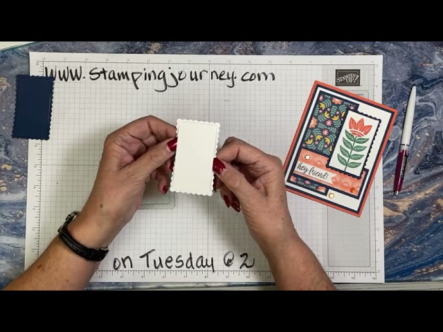 Talkin' on Tuesday @ 2 with In Symmetry stamp set and the Give It A Whirl Dies!