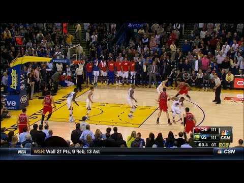 Derrick Rose Chicago Bulls vs. Golden State Warriors Highlights | LIVE 1-27-15