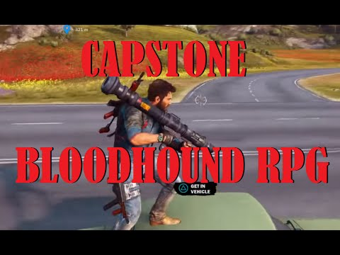 Capstone Bloodhound RPG Just Cause 3 Exclusive DLC Weapon - Gameplay Demonstration