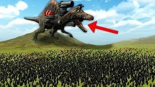 DEV DİNAZOR vs DEV ORDU | Beast Battle Simulator