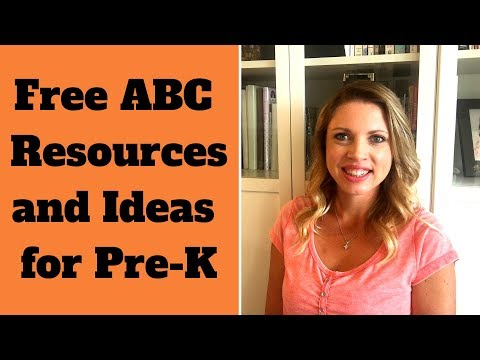 Pre-K  Free Alphabet and ABC Resources and Ideas!