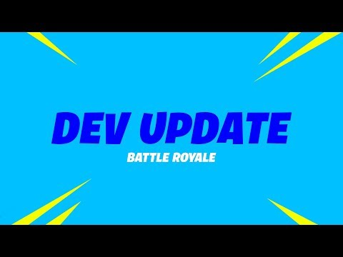 Battle Royale Update (8/31) - Storm Destruction, Vaulting The Revolver and Item Updates