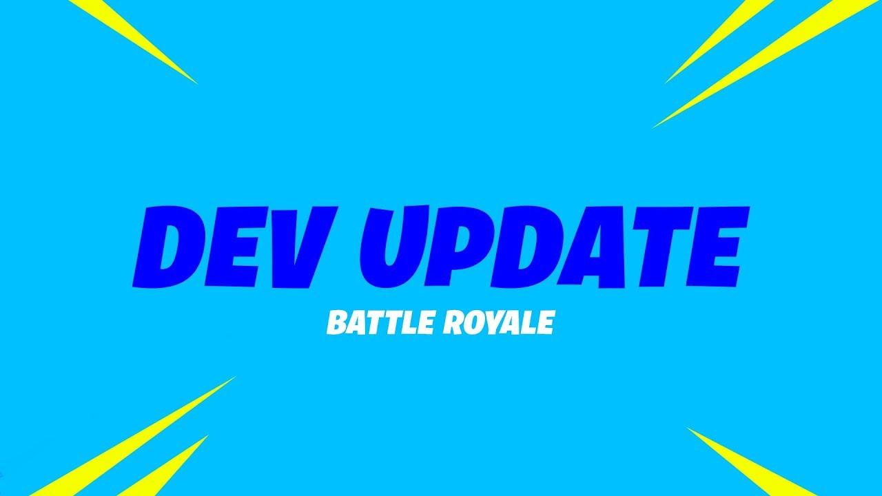 Battle Royale Update (8/31) - Storm Destruction, Vaulting The Revolver and Item Updates