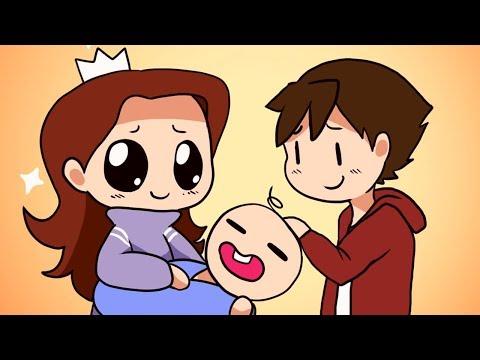 HAVING A BABY PRANK | HARMONY HOLLOW ANIMATED