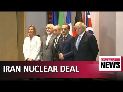 """""""EU must do more to save Iran nuclear deal"""": Tehran"""