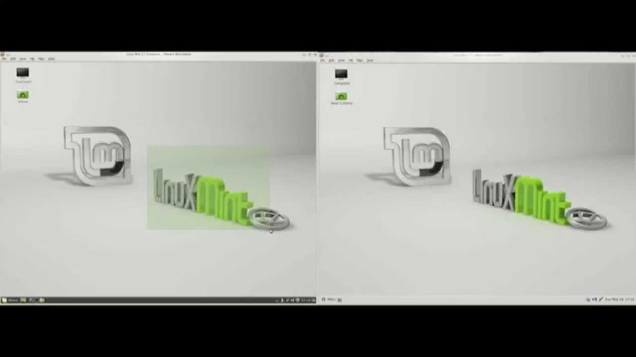 Linux Mint  Cinnamon vs MATE  Comparison 2014  YouTube