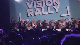 Annunziata Rees-Mogg at THE BIG VISION RALLY NEC Birmingham June 2019