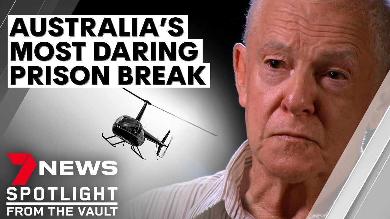 Australia's most daring prison escape: John Killick's helicopter break out | 7NEWS Spotlight
