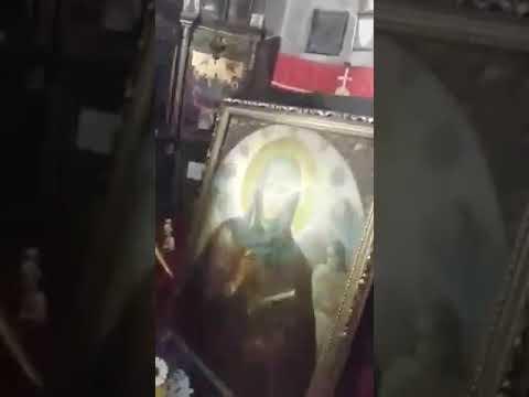 Мироточение иконы Параскевы Пятницы.