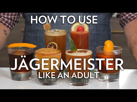How To Use Jägermeister Like An Adult In 6 Cocktails Jagermeister