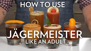 How To Use Jägermeister Like An Adult in 6 Cocktails
