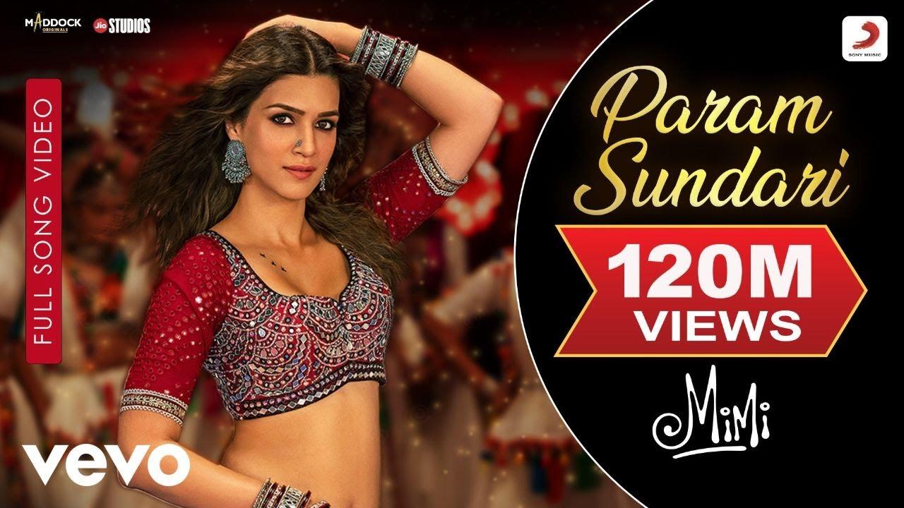 Param Sundari  Full Song VideoMimiKriti Pankaj TA R RahmanShreyaAmitabh B