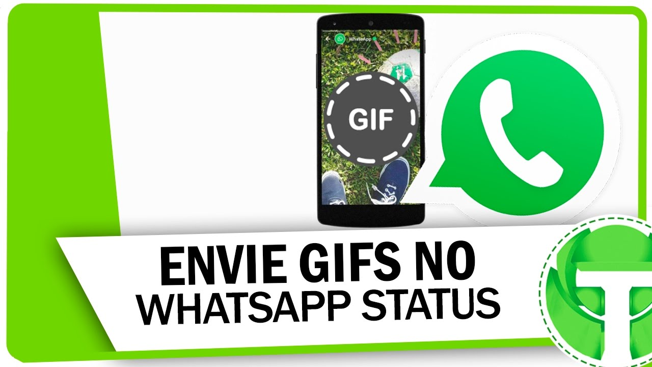 Como publicar GIFs no Status do WhatsApp - YouTube 1322f2f7852
