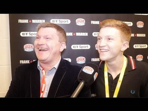 'I NEVER REALLY WANTED MY SON TO BOX' - RICKY HATTON ON HIS SON CAMPBELL 'DOING HIS OWN THING'