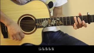 [Acoustic guitar cover] Phượt trong sáng/ Chudu (Lyrics)