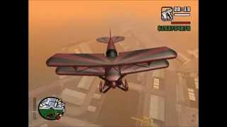 Appropriate flying music in GTA San Andreas