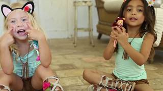 Video Enchantimals Dolls meet BESTIES Everleigh and Ava in an enchanting forest with real magical animals! download MP3, 3GP, MP4, WEBM, AVI, FLV Januari 2018