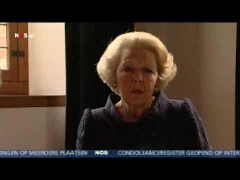 Toespraak Koningin Beatrix Aanslag Apeldoorn: Diep Geschokt