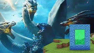 Como Hacer Un Portal A La Dimension De Godzilla  Minecraft Portales