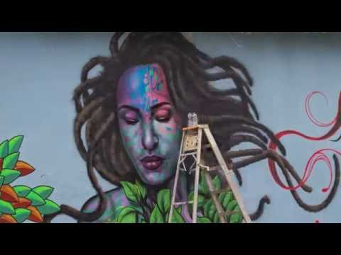 Graffiti Art - Time Lapse - Dominican Republic