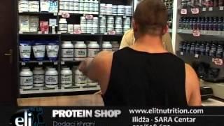 Protein shop ELIT NUTRITION(Posjetite nas na Ilidzi u Sara centru II sprat www.elitnutrition.com., 2013-11-11T13:50:46.000Z)