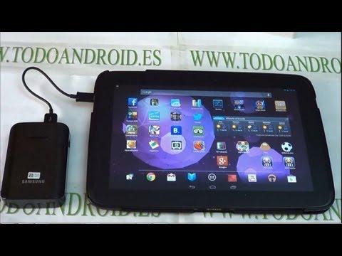Batería externa Samsung de 9.000 mAh - unboxing y analisis