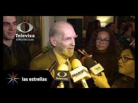 Victoria Abril y Fernando Luján recibieron premio por su trayectoria | Las Estrellas