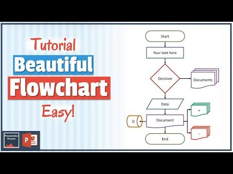 How to Create Beautiful PowerPoint Flowchart (PowerPoint Tutorial)