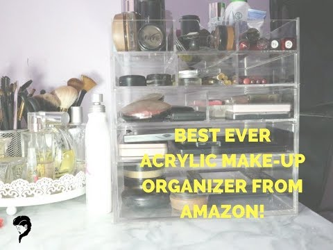 AMAZON CQ ACRYLIC MAKE UP DRAWERS UNBOXING | SOMETHING RANDOM REVIEW: SHIPPING TO KENYA FROM THE US