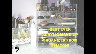 AMAZON CQ ACRYLIC MAKE UP DRAWERS UNBOXING   SOMETHING RANDOM REVIEW: SHIPPING TO KENYA FROM THE US