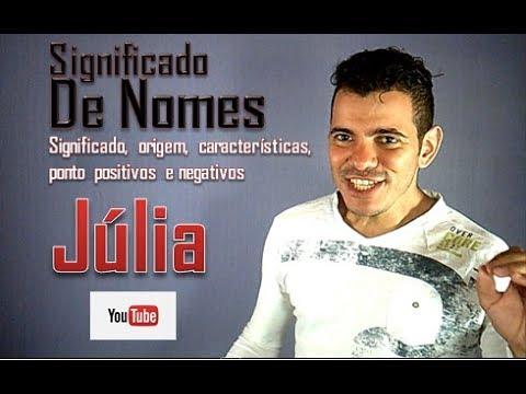 Significado de Nomes - Júlia