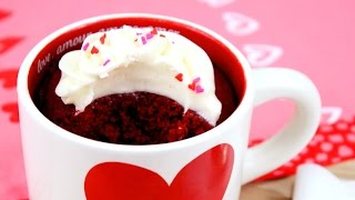 How To Make Red Velvet Mug Cake!