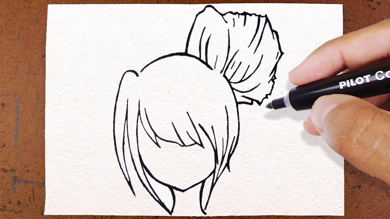 Como Desenhar Cabelo Estilo Anime Mangá