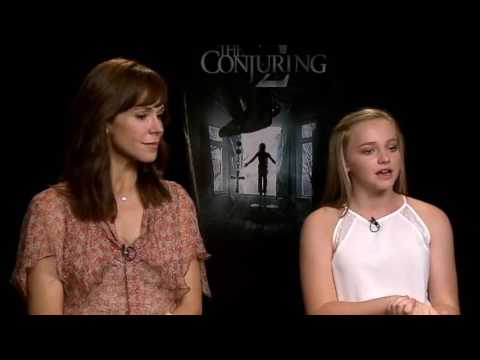 The Conjuring 2 Interview with Frances O'Connor and Madison Wolfe