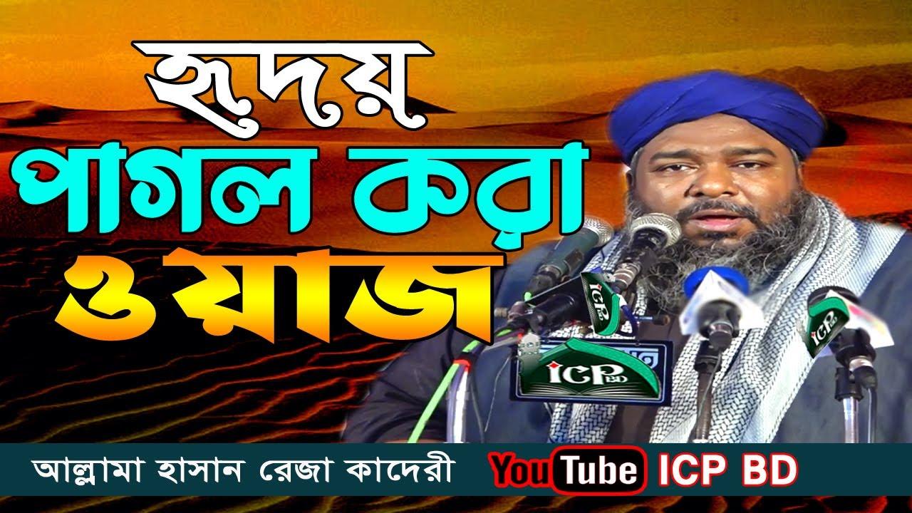 লক্ষ আশেকের দিলের খোরাক | মাওলানা হাসান রেজা কাদেরী | Allama Hasan Reja Kaderi | Bangla Waz | ICP BD